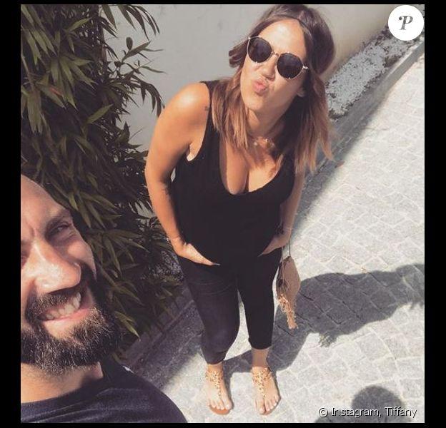 """Tiffany et Justin de """"Mariés au premier regard"""" - juin 2018"""