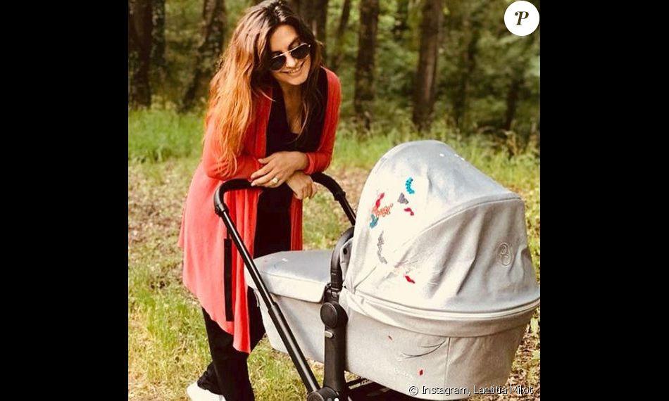 Laetitia Milot en balade avec Lyana - 13 juin 2018, Instagram
