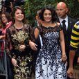 Selena Gomez en robe Dolce & Gabbana et Vanessa Hudgens à Venise. Septembre 2012.