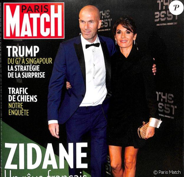 """Couverture du magazine """"Paris Match"""" en kiosques le 14 juin 2018."""