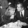 Isabelle Huppert et Karl Lagerfeld