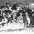 A gche, Annie Girardot ; au centre : Isabelle Huppert ; à droite ; Clio Goldsmith
