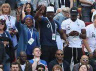Mondial 2018 : Les familles des Bleus ont vibré avec Vianney et Nagui