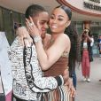 Exclusif - Blac Chyna et son compagnon YBN Almighty Jay arrivent à l'événement Lashed Ladies à Los Angeles, Californie, Etats-Unis, le 29 avril 2018.