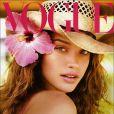 Julie Ordon en couverture de Vogue
