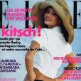 Julie Ordon en couverture de Elle