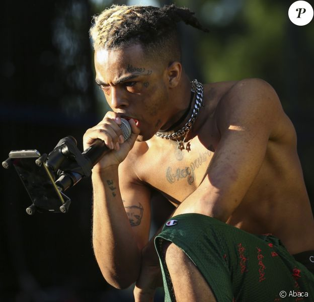 XXXTentacion en concert à Miami le 6 mai 2017.