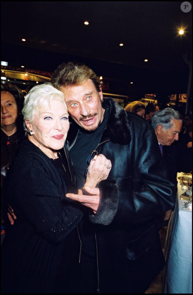 Line Renaud et Johnny Hallyday en 2002