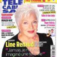 """Line Renaud en couverture de """"Télé Câble Sat"""", en kiosques le 25 juin 2018."""