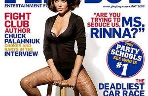 Lisa Rinna, exceptionnellement sexy et glamour pour Playboy !