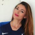 Rachel Legrain-Trapani supporte les Bleus pendant le Coupe du monde 2018 - Instagram, juin 2018
