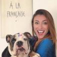 Rachel Legrain-Trapani supporte l'équipe de France pendant la Coupe du monde 2018 - Instagram, juin 2018