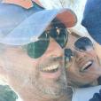 Ingrid Chauvin et son mari Thierry Peythieu - Instagram @Ingridchauvinofficiel, 10 septembre 2017