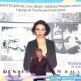 """Benjamin Castaldi annonce l'arrivée de Delphine Wespiser dans """"Touche pas à mon poste"""" à la rentrée sur la plateau de """"La télé même l'été"""" sur C8 le 26 mai 2018."""