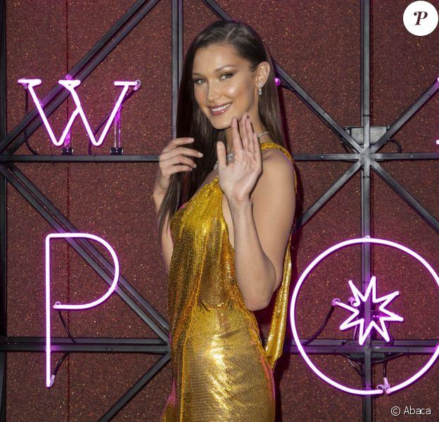 Bella Hadid au Bvgalri Gala Dinner à Rome, le 28 juin 2018.
