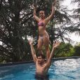 Maude et Damien Lauretta - Instagram, juillet 2017