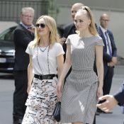 Vanessa Paradis, jeune mariée radieuse avec sa fille Lily-Rose Depp
