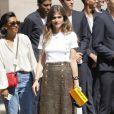 """Elisa Sednaoui - 2e défilé de mode """"Chanel"""", collection Haute-Couture automne-hiver 2018/2019, à Paris. Le 3 juillet 2018 © CVS-Veeren / Bestimage"""