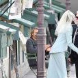 """Défilé de mode """"Chanel"""", collection Haute-Couture automne-hiver 2018/2019, au Grand Palais à Paris. Le 3 juillet 2018."""