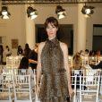 """Mareva Galanter au défilé de mode """" Alexis Mabille """", collection Haute-Couture automne-hiver 2018/2019, à Paris. Le 3 juillet 2018 © CVS-Veeren / Bestimage"""