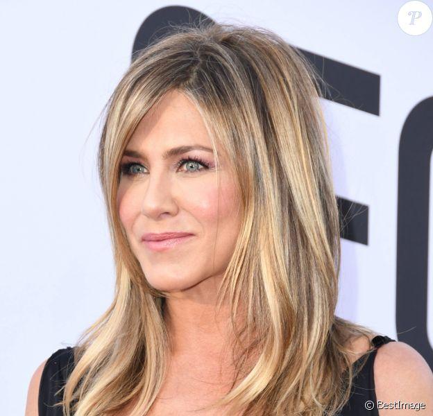 """Jennifer Aniston - People à la soirée annuelle """"AFI Life Achievement Award"""" à Los Angeles. Le 7 juin 2018 © Birdie Thompson / Zuma Press / Bestimage"""