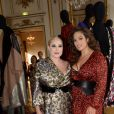 Exclusif - Hayley Hasselhoff et Ashley Graham à la soirée de lancement de la collection capsule Marina Rinaldi by Fausto Puglisi à l'hôtel d'Evreux à Paris le 2 juillet 2018. © Rachid Bellak / Bestimage