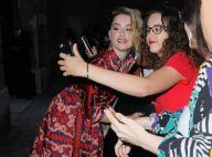 Fashion Week : Amber Heard, ravissante pour le défilé Valentino
