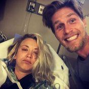 Kaley Cuoco en piteux état à l'hôpital : sa lune de miel compromise !
