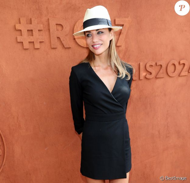 Ariane Brodier au village lors des internationaux de tennis de Roland Garros, à Paris, le 5 juin 2017. © Cyril Moreau / Dominique Jacovides / Bestimage