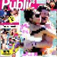 Couverture du magazine Public. Juillet 2018.
