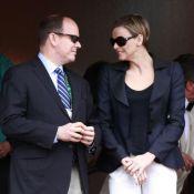 Entre le Prince Albert et la belle Charlene... ça va vraiment mieux ! Ouf !