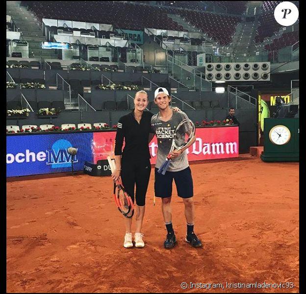La française Kristina Mladenovic et le joueur autrichien Dominic Thiem ne se cachent plus. En couple, ils se retrouvent aujourd'hui pour l'édition 2018 de Rolland-Garros.