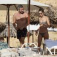 Alessandra Ambrosio en vacances à Ibiza, le 8 juillet 2018.