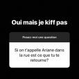 """Lola Marois s'exprime sur Ariane, le personnage qu'elle incarne dans """"Plus belle la vie"""" (France 3), sur Instagram le 11 juillet 2018."""