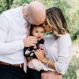 Jana Kramer, son mari  Michael Caussin et leur fille Jolie Rae sur une photo publiée sur Instagram le 23 novembre 2017