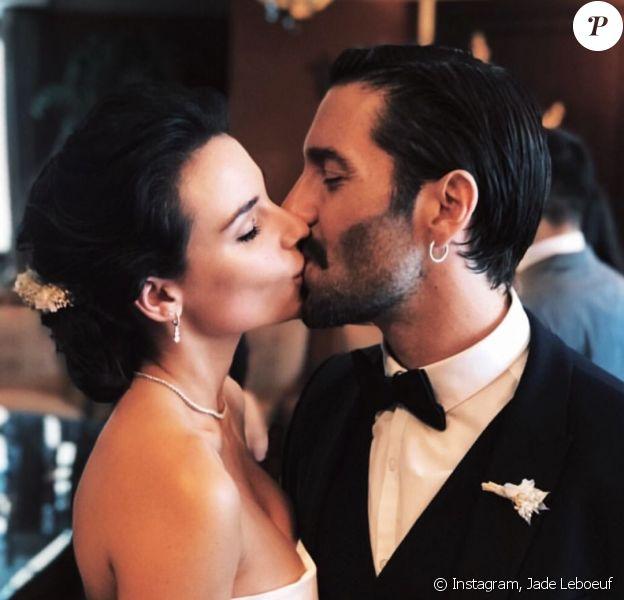 Jade Leboeuf et Stéphane Rodrigues se sont mariés le 12 juillet 2018