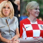 France-Croatie : Duel de style entre Brigitte Macron et Kolinda Grabar-Kitarović
