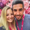 """Emma et Florian de """"Mariés au premier regard 2"""" souriants sur Instagram, 7 mai 2018"""