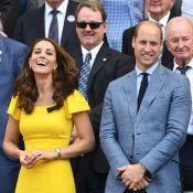 Kate Middleton : Une jeune maman radieuse avec le prince William à Wimbledon