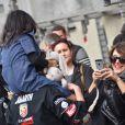 """Exclusif - Agnès Boulard (Mademoiselle Agnès) et Emma de Caunes - Course """"Talon Pointe by Abarth"""" au circuit Bugatti du Mans les 24 et 25 mars 2018."""