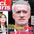 """Couverture du magazine """"Ici Paris"""" du 18 juillet 2018."""
