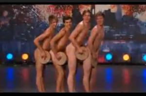 Incroyable talent, c'est chaud en Suède : la preuve avec le premier boysband... nu !!! Regardez !