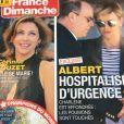 """Couverture du magazine """"France Dimanche"""" du 20 au 26 juillet 2018"""