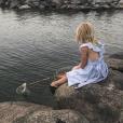 La princesse Leonore de Suède, fille de la princesse Madeleine de Suède, photo Instagram 20 juillet 2018.