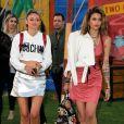 Paris Jackson et Caroline D'Amore arrivent au défilé Moschino (collections homme printemps-été 2019 et croisière 2019) à Los Angeles. Le 8 juin 2018 © CPA / Bestimage