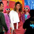Paris Jackson arrive au défilé Moschino (collections homme printemps-été 2019 et croisière 2019) à Los Angeles. Le 8 juin 2018 © CPA / Bestimage