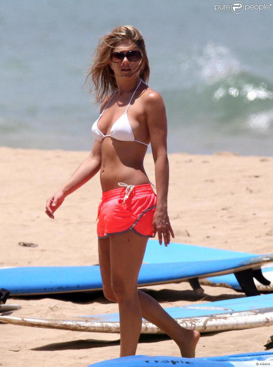 C'est à Santa Barbara que la jolie Jennifer Aniston ...