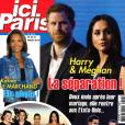 """Couverture du magazine """"Ici Paris"""", en kiosques le 25 juillet 2018."""
