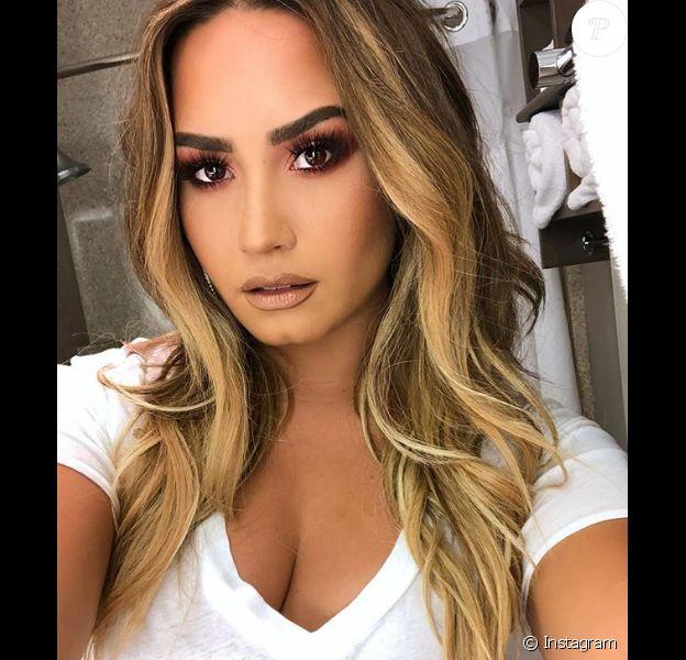 Demi Lovato. Juillet 2018.