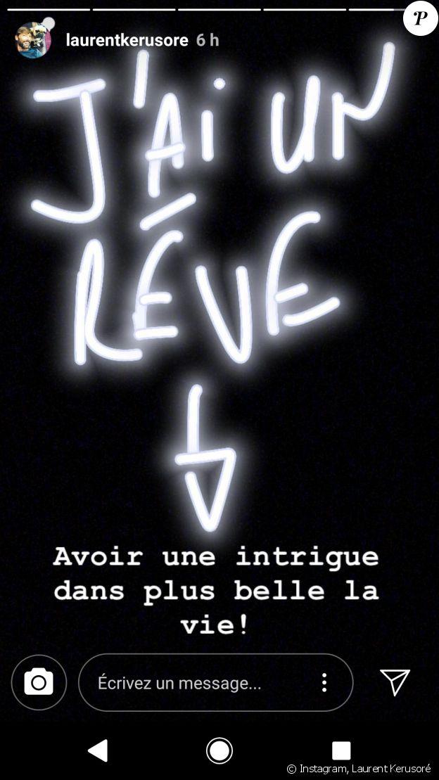 Coup de gueule de Laurent Kerusoré, jeudi 26 juillet 2017 - story Instagram
